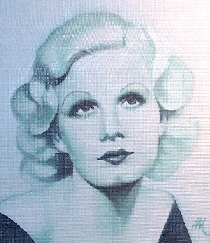 Jean Harlow by mario
